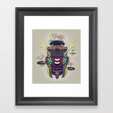 Earth Deity Framed Art Print