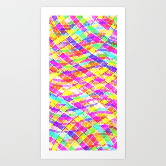 Billow Bright Art Print