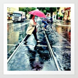 Rain I Art Print