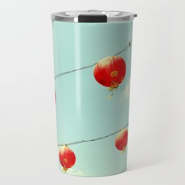 Lanterns III, Chinatown Travel Mug