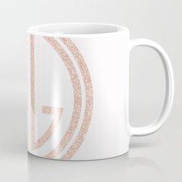 great Gatsby white rose gold Coffee Mug