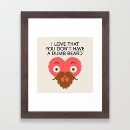 Groomed For Love Framed Art Print