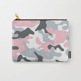 Pink Army Camo Camouflage Pattern Carry-All Pouch