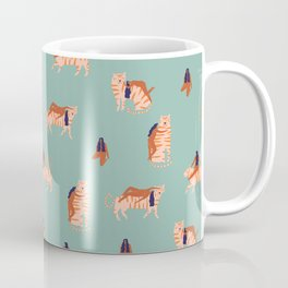 Tigers and girls Coffee Mug