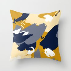 Eve; Abstract Art. Throw Pillow