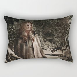 Christmas / Emma Swan Rectangular Pillow