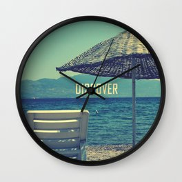 discover Wall Clock