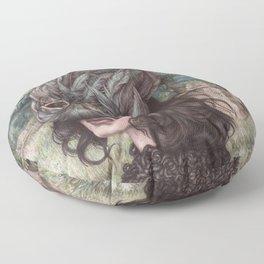 The Huntress Floor Pillow