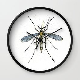Mosquito Control Wall Clock