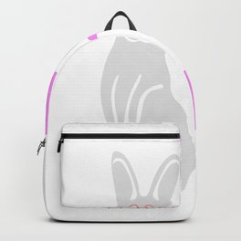 Hop To It Bunny with Glasses Backpack