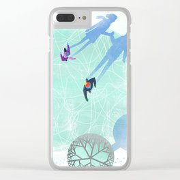 Skating Clear iPhone Case