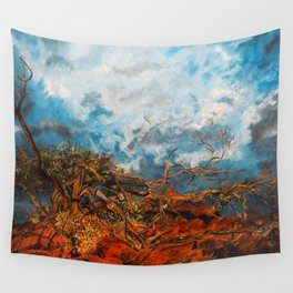 Nature's Fury Wall Tapestry