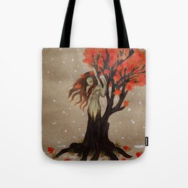 Fall Dryad Tote Bag