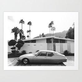 Palm Springs 1 Art Print