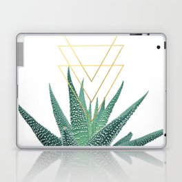 Succulent geometric Laptop & iPad Skin