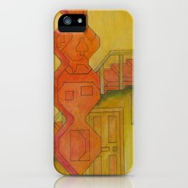 For the Squares: A Party at Auntie Mame's iPhone Case