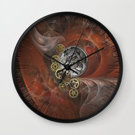 Wheels of Time Wall Clock