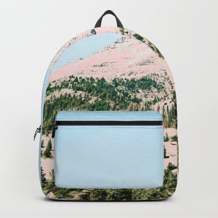 Happy Mountain #society6 #decor #buyart Backpack