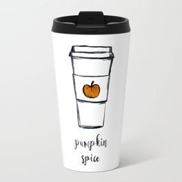 Pumpkin Spice, Coffee lover, Barista, Fall, Autumn Travel Mug