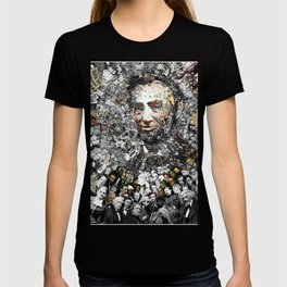"""Rendering Myself Worthy"" Abraham Abe Lincoln. T-shirt"