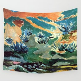Henri Matisse Brook with Aloes Wall Tapestry
