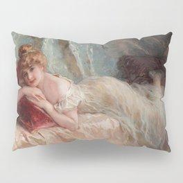 Idle Woman (1906) Pillow Sham