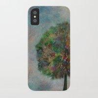 autumn iPhone & iPod Cases featuring Autumn by Klara Acel
