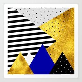 fall abstraction #3 Art Print