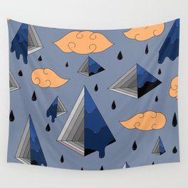 Blue Py Wall Tapestry