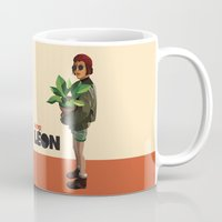 leon Mugs featuring Mathilda, Leon the Professional by Natalié Art&Living