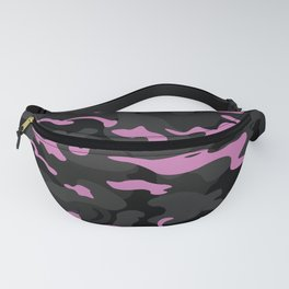 Camo Style -  Black Pink Camouflage Fanny Pack