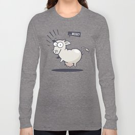 Scared Cow! Long Sleeve T-shirt