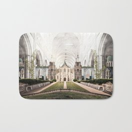 World in Cathedral Bath Mat