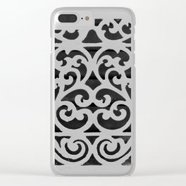 Antique Vent Cover Clear iPhone Case