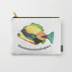 H is for Humuhumunukunukuapua'a Carry-All Pouch
