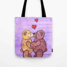 Bears in love Tote Bag