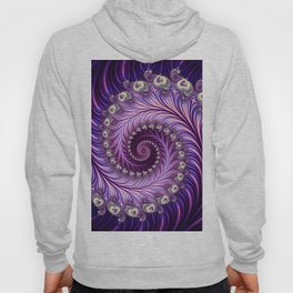 SPIRAL WITH HEARTS Hoody