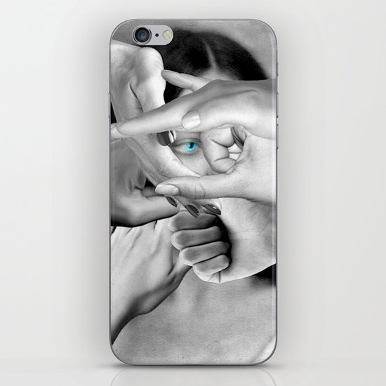 DO YOU SEE ME? iPhone & iPod Skin