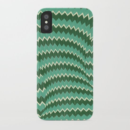 kiss your zig zag iPhone Case