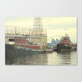 Tugboats II Canvas Print