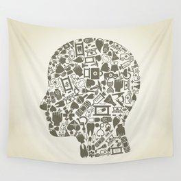 Head medicine Wall Tapestry
