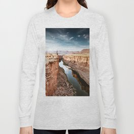 on top of the canyonland Long Sleeve T-shirt