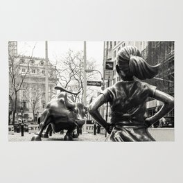 Fearless Girl & Bull - NYC Rug