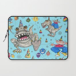 Billy gets a t-rex for his birthday Laptop Sleeve