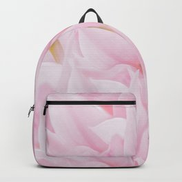 Pink petals on a light background - #Society6 #buyart Backpack