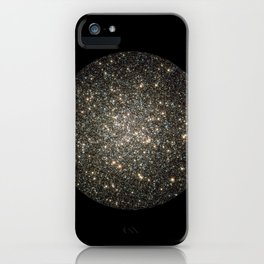 """Globular Cluster"" Hercules Constellation iPhone Case"