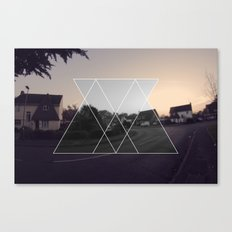 ABSTRACT GRAPHIC  Canvas Print