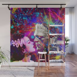 Frankenstein`s Bride Wall Mural
