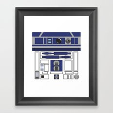 R2D2 - Starwars Framed Art Print