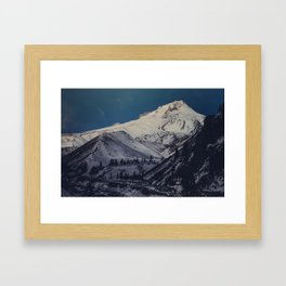 From Boy Scout Ridge Framed Art Print